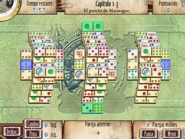 Juegos Capturas 1 Mah-Jomino