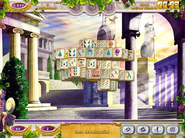 Juegos Capturas 1 Mahjong Mysteries: Ancient Athena