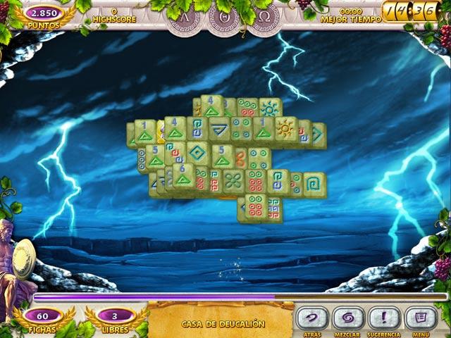 Juegos Capturas 2 Mahjong Mysteries: Ancient Athena