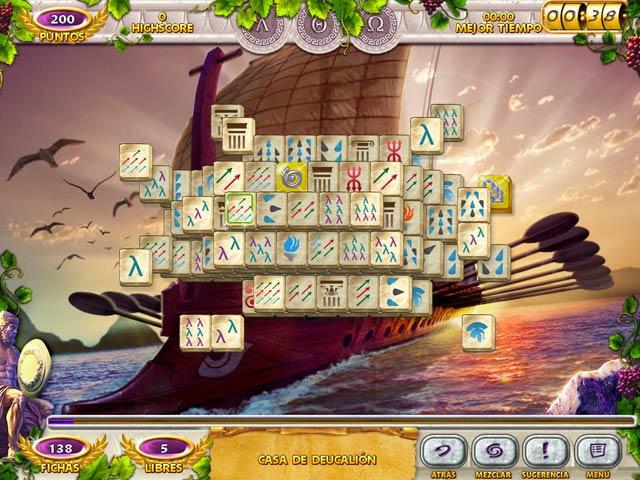 Juegos Capturas 3 Mahjong Mysteries: Ancient Athena