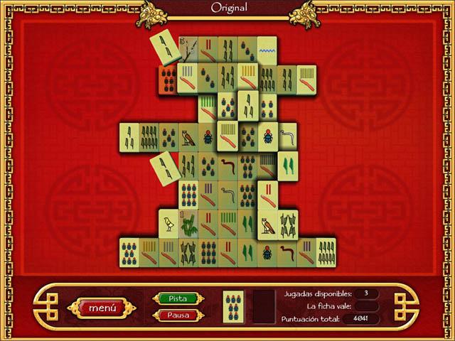 Juegos Capturas 3 Mahjong World