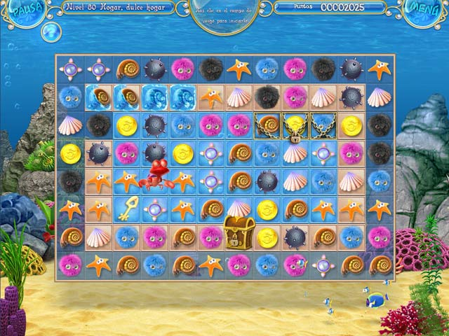 Juegos Capturas 1 Mermaid Adventures: La perla mágica