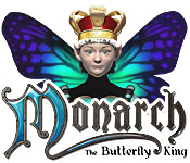 Característica De Pantalla Del Juego Monarch - The Butterfly King