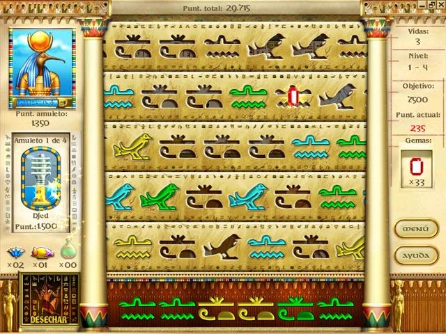 Juegos Capturas 1 Mysteries of Horus