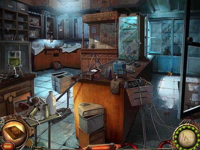 Juegos Capturas 3 Nightfall Mysteries: Conspiración en el manicomio