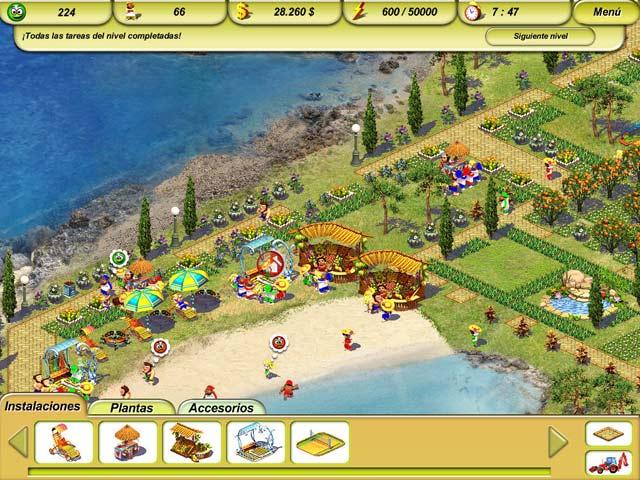 Juegos Capturas 1 Paradise Beach 2: Around the World