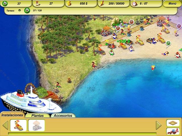 Juegos Capturas 2 Paradise Beach 2: Around the World