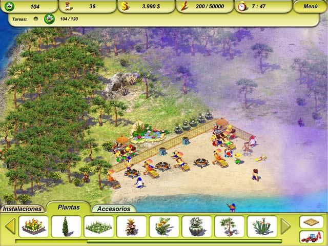 Juegos Capturas 3 Paradise Beach 2: Around the World