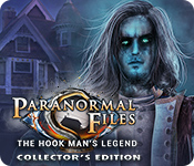 Característica De Pantalla Del Juego Paranormal Files: The Hook Man's Legend Collector's Edition