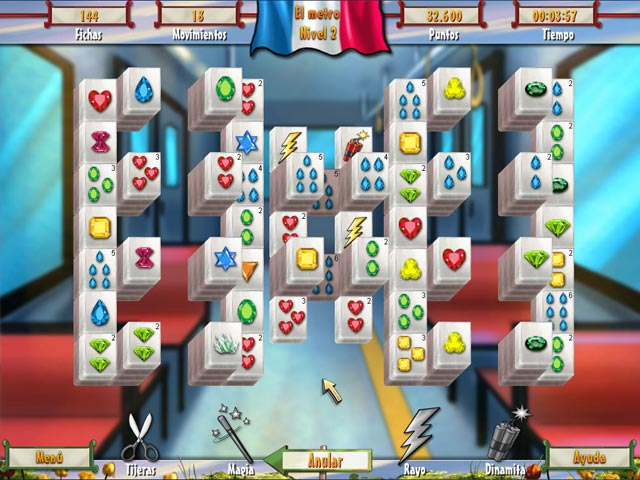 Juegos Capturas 1 Paris Mahjong