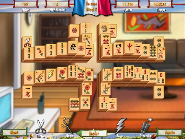 Juegos Capturas 3 Paris Mahjong