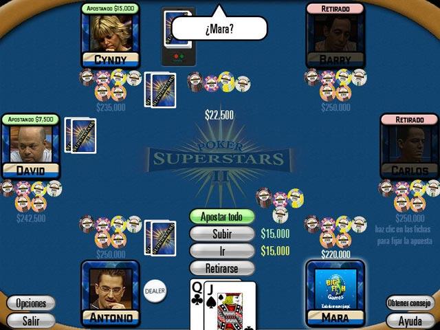 Juego de poker para xp
