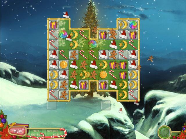 Juegos Capturas 3 Puzzle Navideño