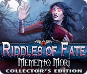Característica De Pantalla Del Juego Riddles of Fate: Memento Mori Collector's Edition