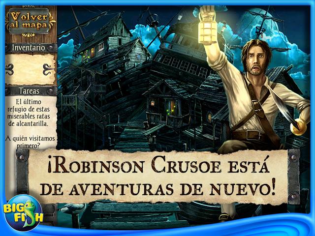 Pantallazo de Robinson Crusoe y los Piratas Malditos