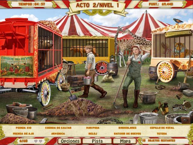 Juegos Capturas 1 Runaway With The Circus
