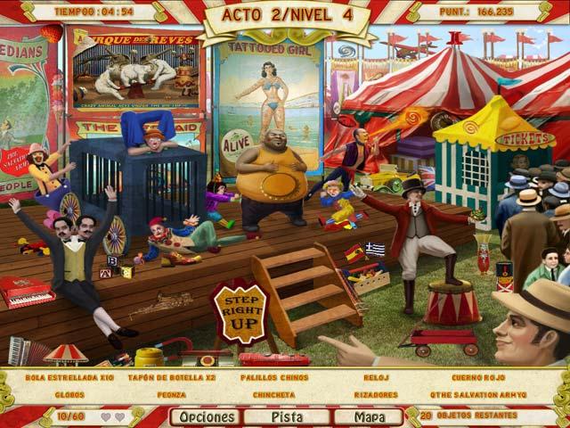 Juegos Capturas 3 Runaway With The Circus