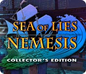 Característica De Pantalla Del Juego Sea of Lies: Nemesis Collector's Edition