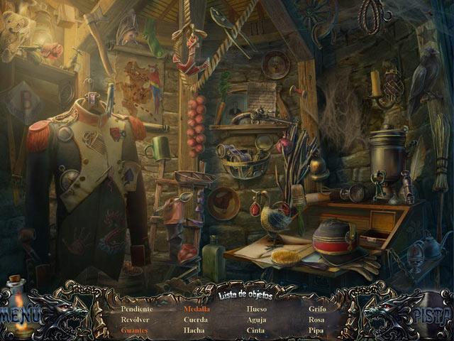 Juegos Capturas 3 Shadow Wolf Mysteries: La Perdición de la Familia