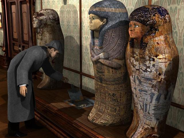 Juegos Capturas 2 Sherlock Holmes: El Misterio de la Momia