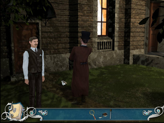 Juegos Capturas 1 Sherlock Holmes: The Secret of the Silver Earring