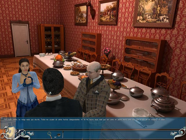 Juegos Capturas 3 Sherlock Holmes: The Secret of the Silver Earring