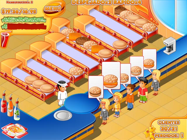 Big fish games stand food cracked for Big fish cooking games