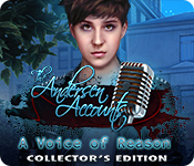 Característica De Pantalla Del Juego The Andersen Accounts: A Voice of Reason Collector's Edition