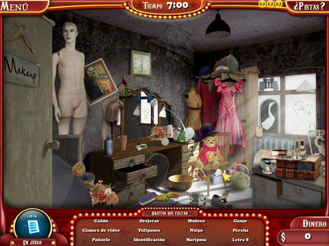 Juegos Capturas 1 The Hidden Object Show