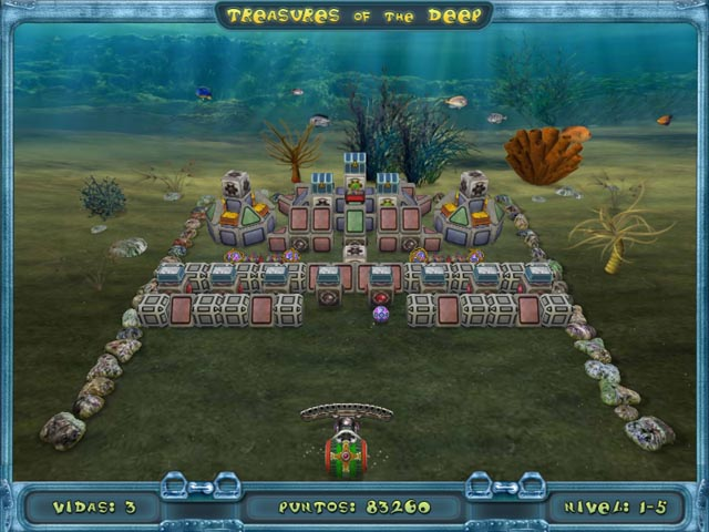 Juegos Capturas 1 Treasures of the Deep
