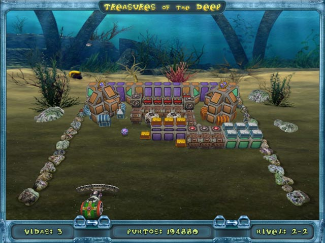 Juegos Capturas 3 Treasures of the Deep