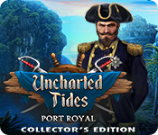 Característica De Pantalla Del Juego Uncharted Tides: Port Royal Collector's Edition
