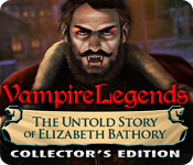 Característica De Pantalla Del Juego Vampire Legends: The Untold Story of Elizabeth Bathory Collector's Edition