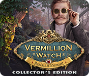 Característica De Pantalla Del Juego Vermillion Watch: Parisian Pursuit Collector's Edition