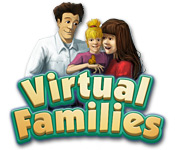 Característica De Pantalla Del Juego Virtual Families