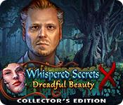 Característica De Pantalla Del Juego Whispered Secrets: Dreadful Beauty Collector's Edition