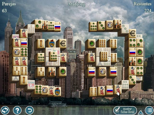 Juegos Capturas 1 World's Greatest Cities Mahjong