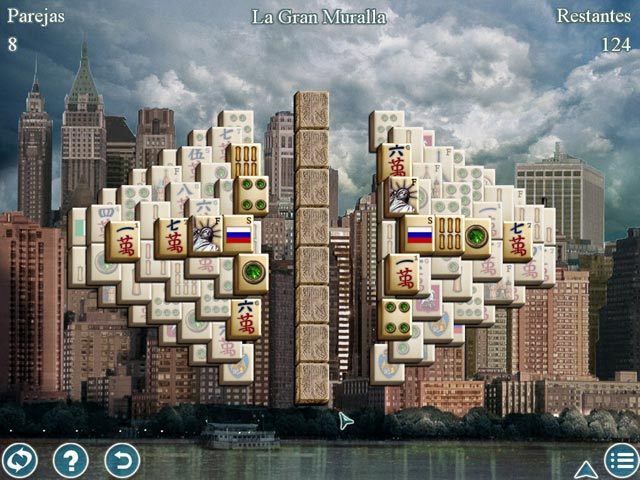 Juegos Capturas 3 World's Greatest Cities Mahjong