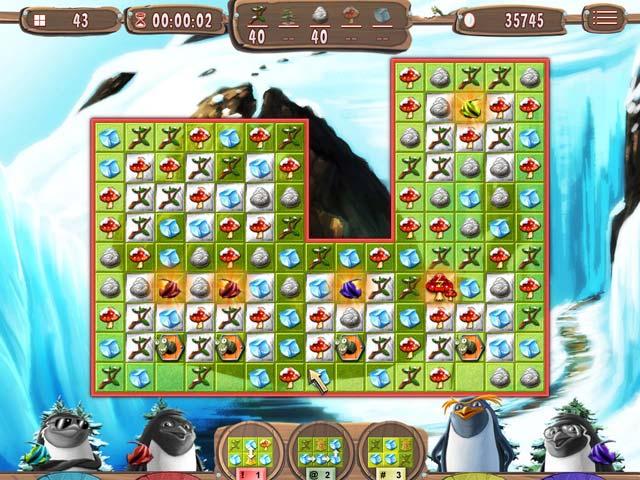 Juegos Capturas 2 Yeti Quest: Crazy Penguins