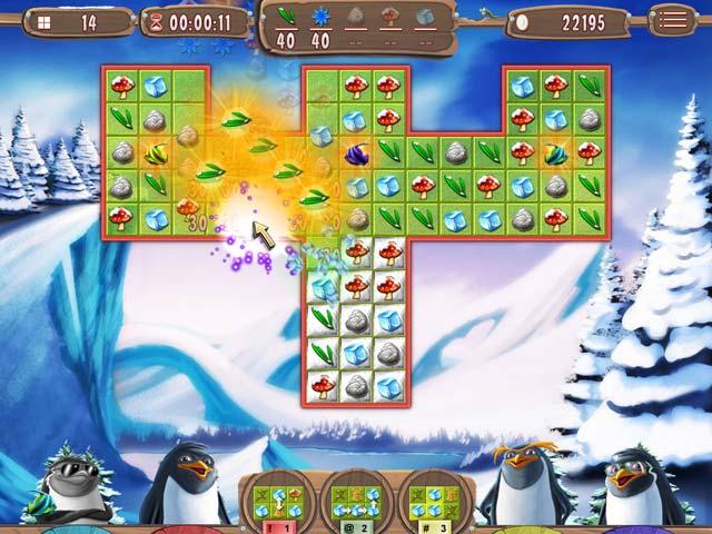 Juegos Capturas 3 Yeti Quest: Crazy Penguins