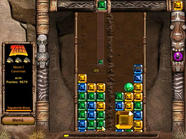 Juegos Capturas 2 Zulu Gems