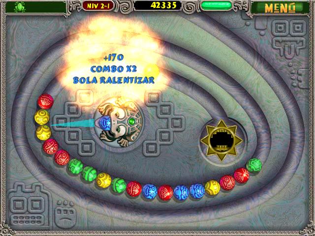 Juegos Capturas 3 Zuma Deluxe