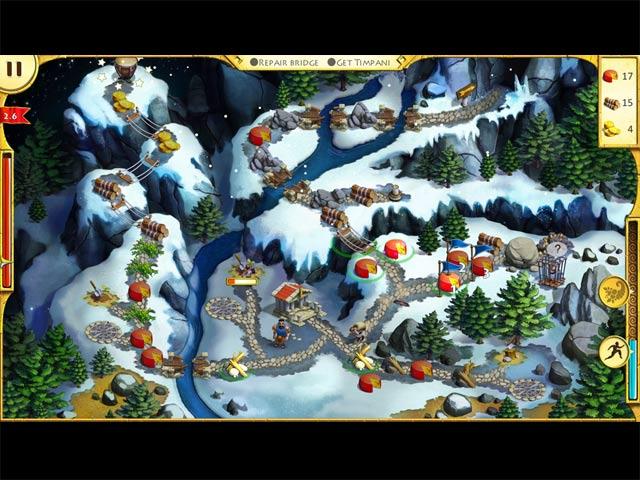 Capture D'écran Du Jeu 2 Les 12 travaux d'Hercule II: Le Taureau Crétois