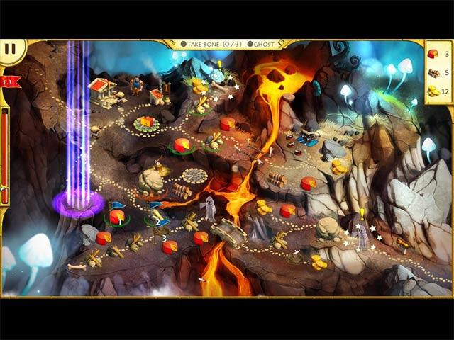 Capture D'écran Du Jeu 3 Les 12 travaux d'Hercule II: Le Taureau Crétois