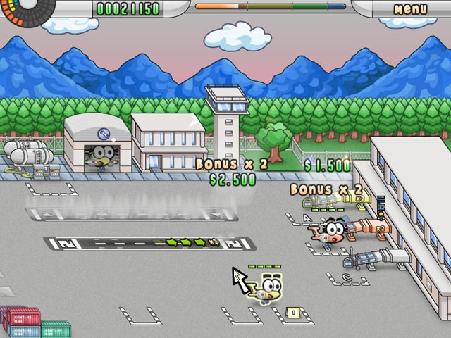 Capture D'écran Du Jeu 2 Airport Mania: First Flight
