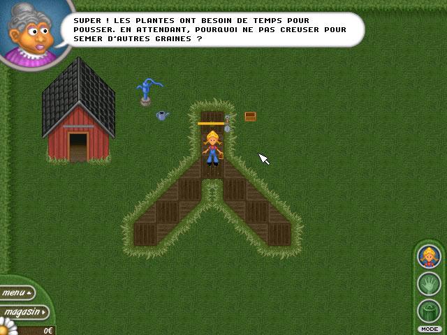 Capture D'écran Du Jeu 3 Alice Greenfingers