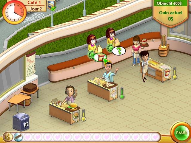Capture D'écran Du Jeu 2 Amelie's Cafe