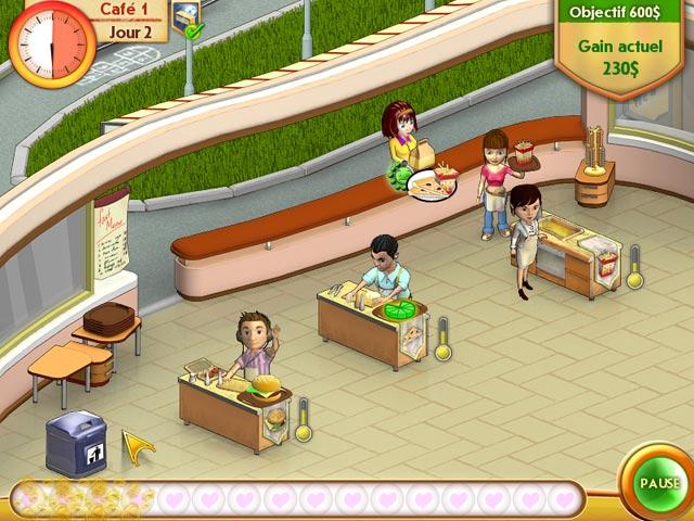 Capture D'écran Du Jeu 3 Amelie's Cafe