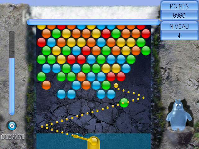 Capture D'écran Du Jeu 2 Aqua Bubble