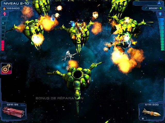 Capture D'écran Du Jeu 1 Astro Avenger 2